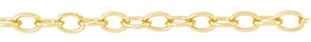 Gouden anker ketting