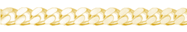 Gouden gourmet ketting