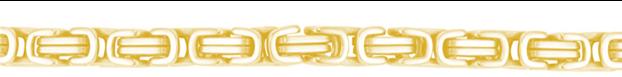 Gouden koningsketting