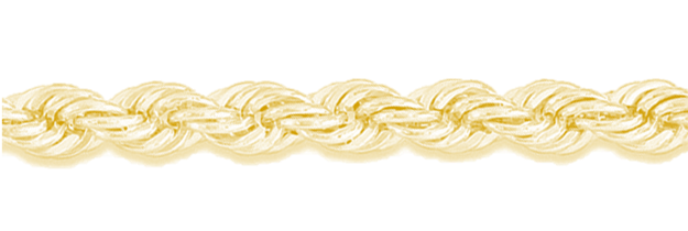 Gouden koord ketting